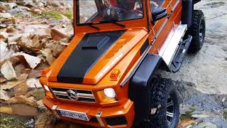 RC CAR  MST CFX-W Benz G-Class Bargain Rock Crawling
