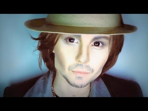 Johnny Depp make-up transformation by Anastasiya Shpagina