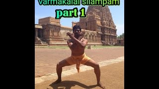 Varmakalai silampam training part 1 SGopalakrishna