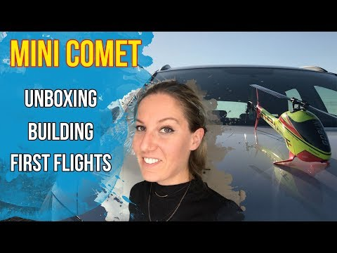 SAB Goblin Mini Comet // Unboxing // Building // Flying