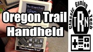 Oregon Trail Handheld - Gameplay and Tear down | TRN