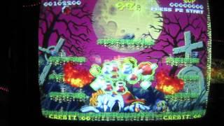 Nightmare in the Dark Review Gameplay - NEO GEO MVS ARCADE GAME