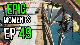 PUBG: Epic & Lucky Moments Ep. 49