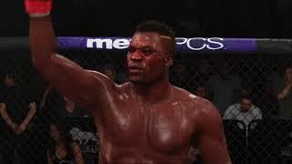 Francis Ngannou Knockout EA Sports UFC 3