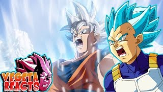Download Lagu Vegeta Reacts To Goku Mastered Ultra Instinct vs Broly Gratis STAFABAND
