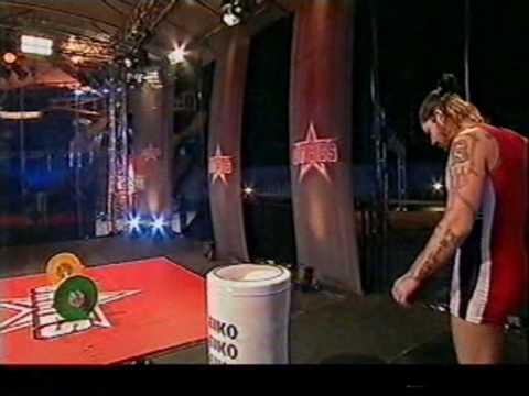 Boyzone - Shane Lynch on The Games 2003 vs 2004 - Weightlifting