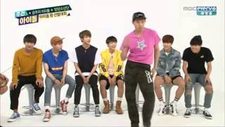 150617 BTS Funny Dance @ Weekly Idol