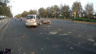 Accident by WagonR....
