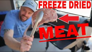 🥩FREEZE DRIED MEAT🥩Steak, Pork Chops, Chicken, Shrimp, Bacon, Hamburger, Turkey, Hot Dogs