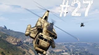 Grand Theft Auto 5 Gameplay Walkthrough Part 27 - Minisub And Cargobob (GTA V)