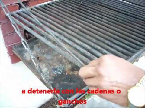 Meat grill space saver parrilla asador de carne for Asadores de carne para jardin