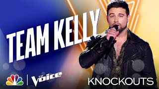"Ryan Gallagher Sings Andrea Bocelli's ""Time to Say Goodbye"" - Four-Way Knockout - Voice Knockouts"