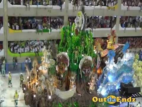 Rio de Janeiro Carnival Sambadrome 2011 [Brazil Carnival] - Winner Beija-Flor