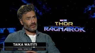 Taika Waititi on Marvel Studios