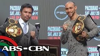 Pacquiao-Thurman pre-fight press conference