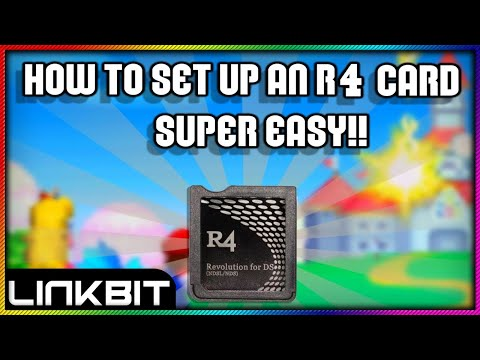 How to set up an r4 card SUPER EASY!