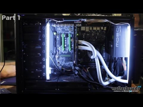 Building the Beast Part II: Overclocking the CPU, SSD RAID Benchmarks & Temps!