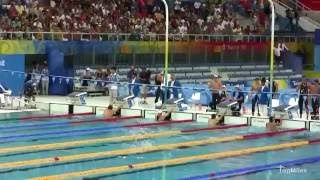 [Raw Footage] Michael Phelps Wins Record Breaking 8th Gold Medal - Beijing 2008 Olympics