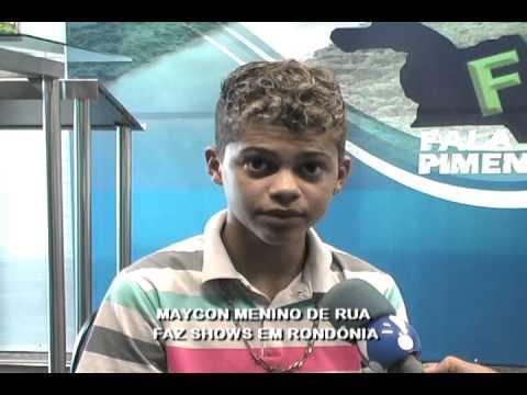 Maycon Menino De Rua Faz Shows Em RondÔnia video