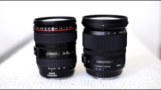 Sigma vs. Canon! Sigma 24-105mm f/4