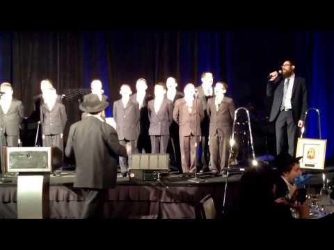 Cheder Lubavitch Boys Choir-Cheder Dinner 2014    Finale - 02/19/2014