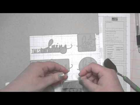 Scrapbooking Product Review:  Silhouette Chipboard Review