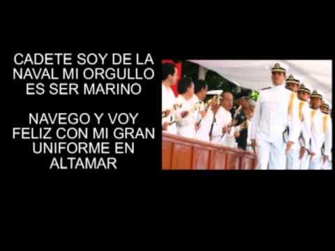 MARCHA MARINOS CON LETRA