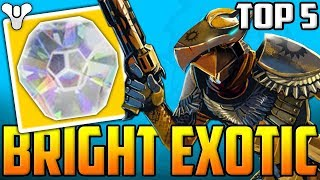 EXOTIC BRIGHT ENGRAM GLITCH?? - Destiny 2 - Top 5 WTF Moments Of The Week / Episode 52