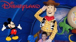 DISNEYLAND Park Fun Disney Characters Parade Toy Story Land Mickey Mouse Disney Princess