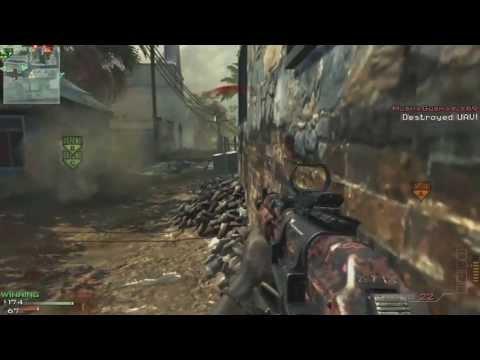 Modern Warfare 3 Online Gameplay - 62-2 - Domination - Mission - AK-47 - 3 AC-130s