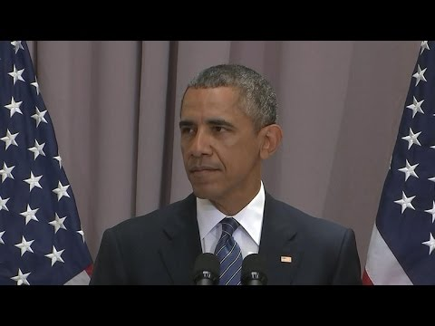 Full speech: President Obama defends Iran nuclear deal