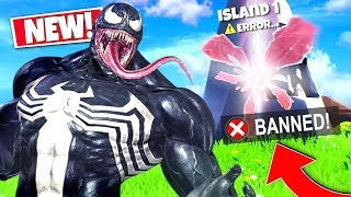 *NEW* Random VENOM Voice Troller BANNED ME From My Own CREATIVE MODE ISLAND In Fortnite!