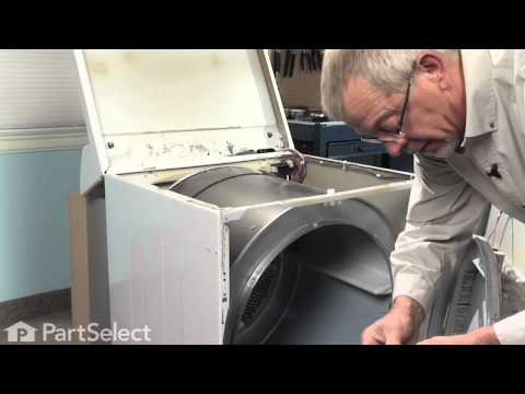 How to Replace a Broken Drive Belt in a Clothes Dryer: 21 steps