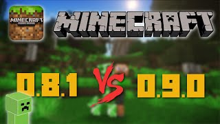 Minecraft Pocket Edition: 0.8.1 vs 0.9.x!  (iPhone, iPod, iPad)