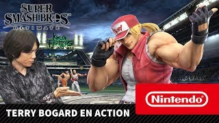 Super Smash Bros. Ultimate - Terry Bogard en action (Nintendo Switch)