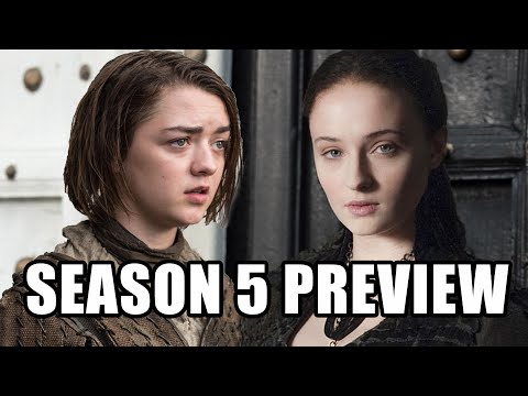 Game of Thrones Season 5 Preview (Spoilers) - Maisie Williams, Tom Wlaschiha, Sophie Turner