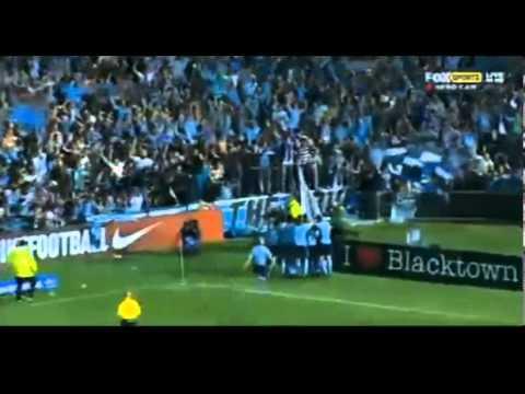 DEL PIERO GOL WESTERN SYDNEY WANDERERS - SYDNEY FC  0-1 20-10-2012