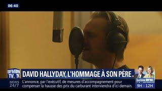 David Hallyday de retour avec un clip signé Laura Smet en hommage à leur père