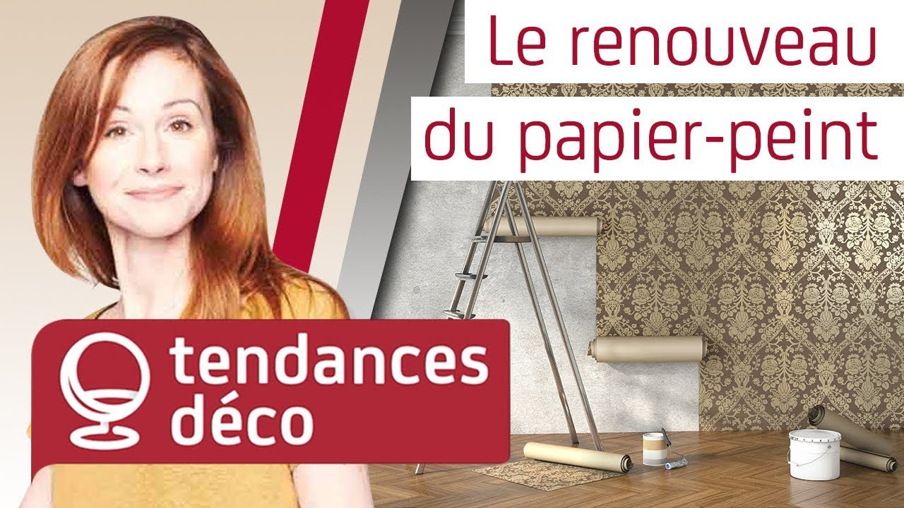le renouveau du papier peint l 39 mission d coration avec sophie ferjani youtube. Black Bedroom Furniture Sets. Home Design Ideas