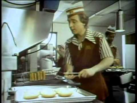 McDonald's Filet O Fish 1977 TV commercial