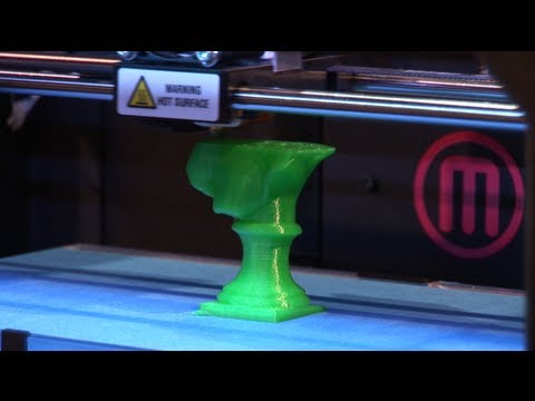 3D Printing with Makerbot Replicator 2 || Gadgetology