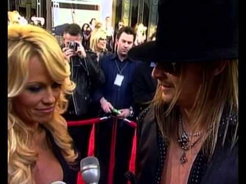 Kid Rock and Pamela Anderson interview