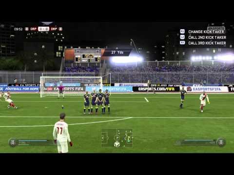 FIFA 15 Pro Clubs Freekick