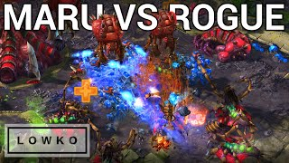 StarCraft 2: MARU vs ROGUE! (Best-of-5)