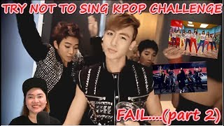 TRY NOT TO SING   K-POP CHALLENGE   FAIL?? (part 2)   (INDONESIA)