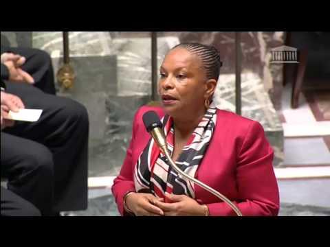 Christiane Taubira à Alain Tourret sur l'abrogation de la loi