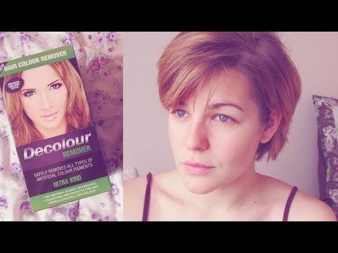 Decolour Hair Colour Remover