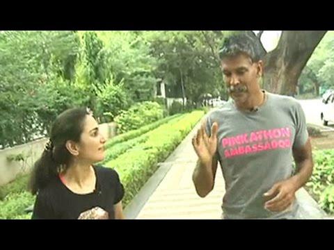 India's Ironman Milind Soman on running the marathon barefoot