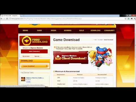 how to download digimon masters online [ DMO ] easy and fast
