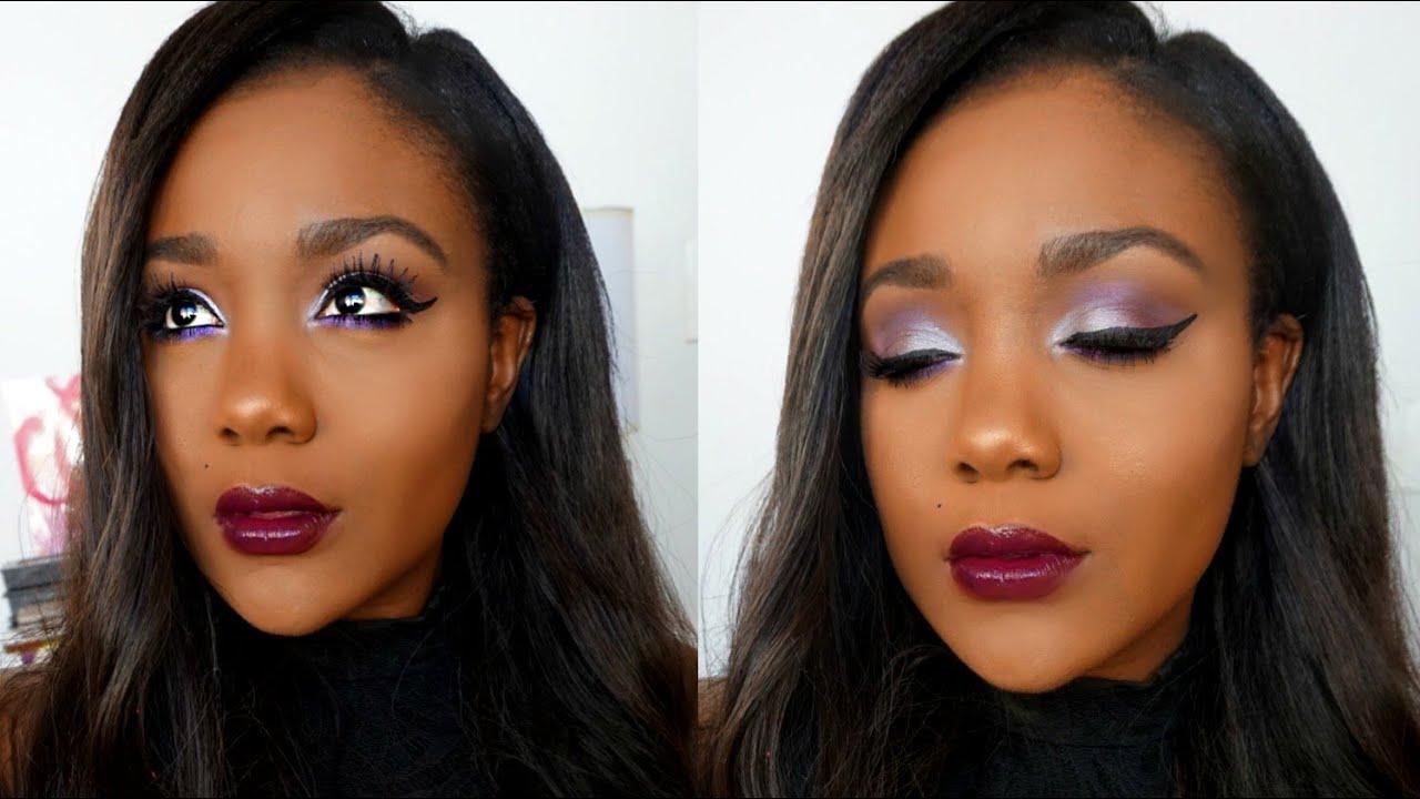Eye makeup for black skin